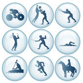 Olympic Sport Icons Set 3 — Stock Vector