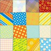 Seamless Fabric Texture — Stock Vector