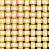 Vector Rattan Pattern — Stock Vector