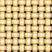 Vector Rattan Pattern — Stock Vector