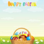 Happy Easter Vector — Stock Vector