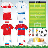 Euro 2012 Group A — Stock Vector