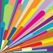 Vector de stock : Colorful background