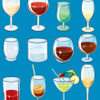 Beverages — Vector de stock
