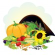 Autumn Harvest — Stock Vector