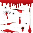 Bloody - Stock Vector