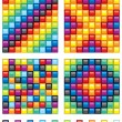 Royalty-Free Stock Vector Image: Mosaic Elements