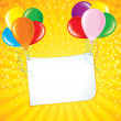tarjeta de celebración — Vector de stock