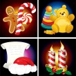 Christmas Icons - Stock vektor