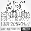 Stylized Alphabet — Stock Vector #8438410