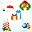 Christmas Elements — Vector de stock #8438420