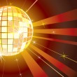 Disco Night — Vector de stock #8438424