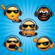 Royalty-Free Stock Imagen vectorial: Cool Deejay 1