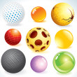 Stock Vector: Design Spheres