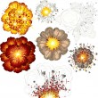 explosieve set — Stockvector  #8438852