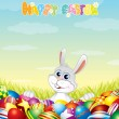 Happy Easter Theme - Stock Vector
