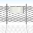 Royalty-Free Stock Vector Image: Chainlink Fence