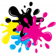 Inkblots - Stock Vector