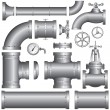 Conduit - Stock Vector