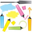Royalty-Free Stock Vector Image: Marker drawing