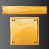 Antique Gold — Stock Vector