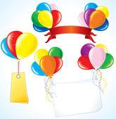 Advertising Balloons — Stock Vector