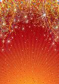 お祝いの背景 — ストックベクタ