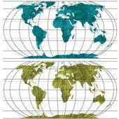 地球の世界 — ストックベクタ