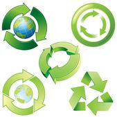 Recycling — Vector de stock
