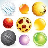 Design Spheres — Stock Vector