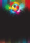 Soccer grunge — Stock Vector