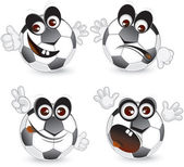 Funny Ball — Vector de stock