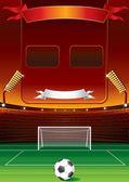Football Scoreboard — Stock Vector
