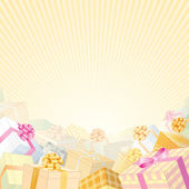 Gift Background — Stock Vector