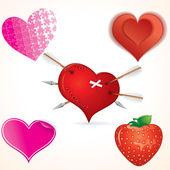 Heart Clip art — Stock Vector