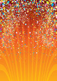 праздничная фон — Cтоковый вектор