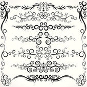 Ornamental Borders — Stock Vector