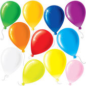 Party Balloons — Stockvector