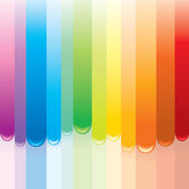 Rainbow Paint — Stock Vector