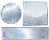 Steel Plates — Stock Vector