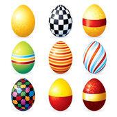Schilderij vector eieren — Stockvector