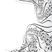Music theme — Vettoriale Stock