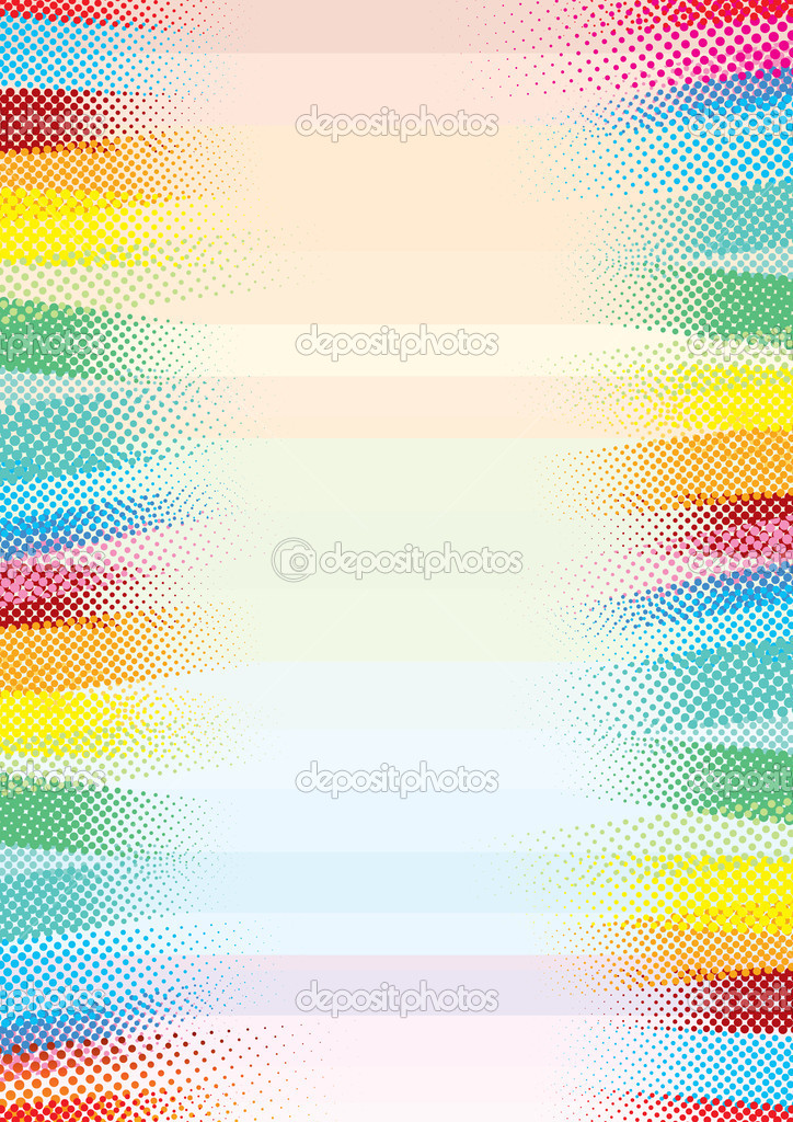 Abstract Halftone colored background — Stock Vector #8437784