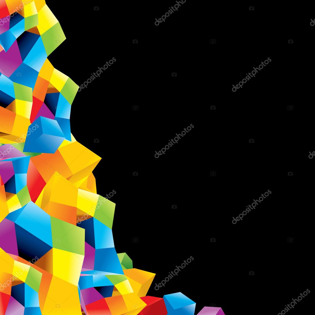 Abstract vector composition for your background — Stock Vector #8437848