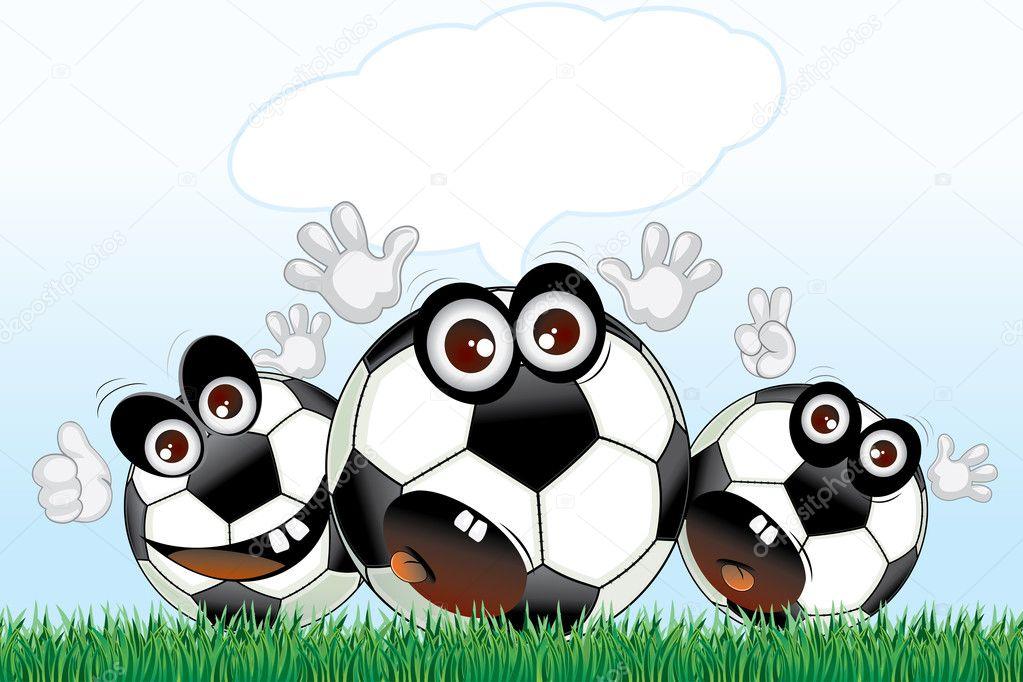 Мячи нарисованные
