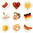 Royalty-Free Stock Vectorafbeeldingen: Oktoberfest Labels