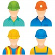 Royalty-Free Stock Vector: Workers