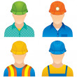 Stock Vector: Workers