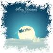 复古圣诞卡片 — 图库矢量图片