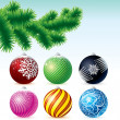 Stock Vector: Xmas Bauble